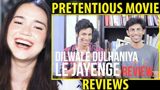 MOST BOLLYWOOD EVER   Dilwale Dulhaniya Le Jayenge Review   Pretentious Movie Reviews   Reaction