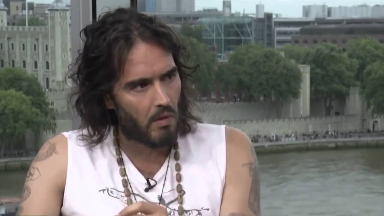 Russell Brand Is Currently Having Sex With You