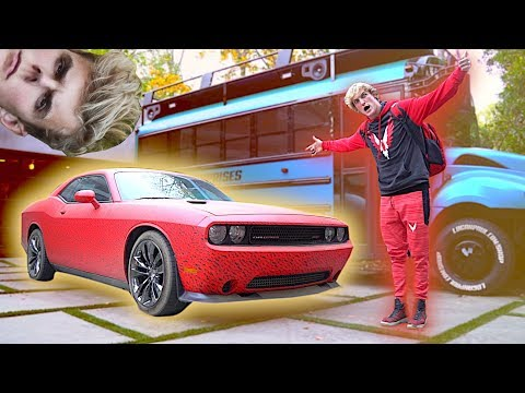 Thumbnail: THE NEW RED MAVERICK CAR! **pranked by Jakey**