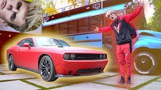 connectYoutube - THE NEW RED MAVERICK CAR! **pranked by Jakey**