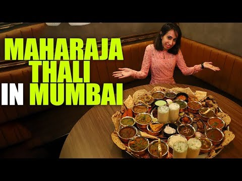 The Grand Maharaja Thali At Quarter Canteen in Mumbai | Curly Tales