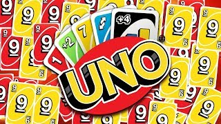 OVER 100 CARDS ON THE BOARD *MY FRIENDS ARE THE WORST* - UNO FUNNY MOMENTS