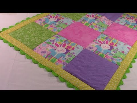 Easy Baby Quilt Youtube