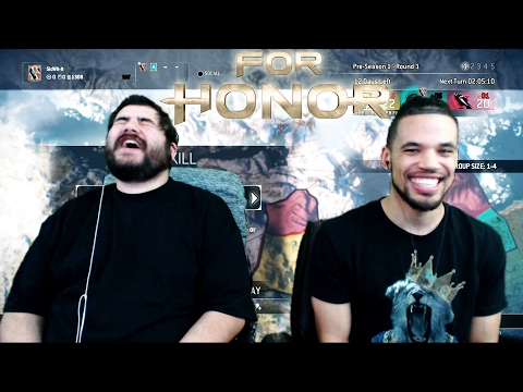FOR HONOR Open Beta: Elimination 4v4 - From Horrible to Amazing