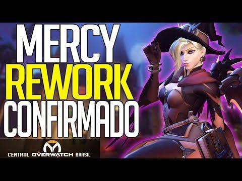 OVERWATCH | CONFIRMADO MERCY VAI TER MUDANÇAS!! (Rework/Buffs) | Central Overwatch Brasil