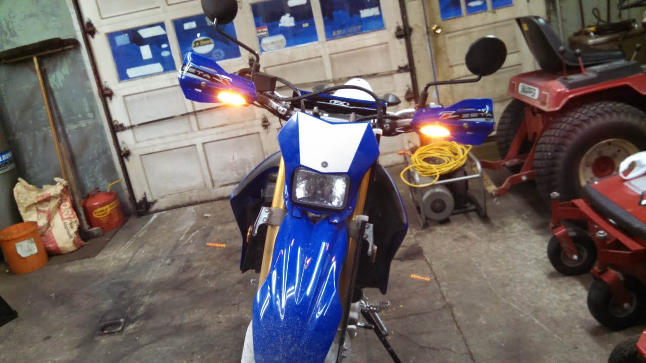 2014 Wr250r Gearjunky Install Of Zeta Hand Guard With