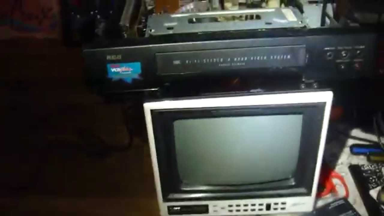 (1996) RCA #VR619HF VCR Has Died (Blown Capacitor)