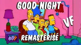 """Les Simpson """"Bonne nuit"""" remastérisé VF"""