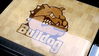 "Making A ""bulldog"" Inlaid End Grain Cutting Board"