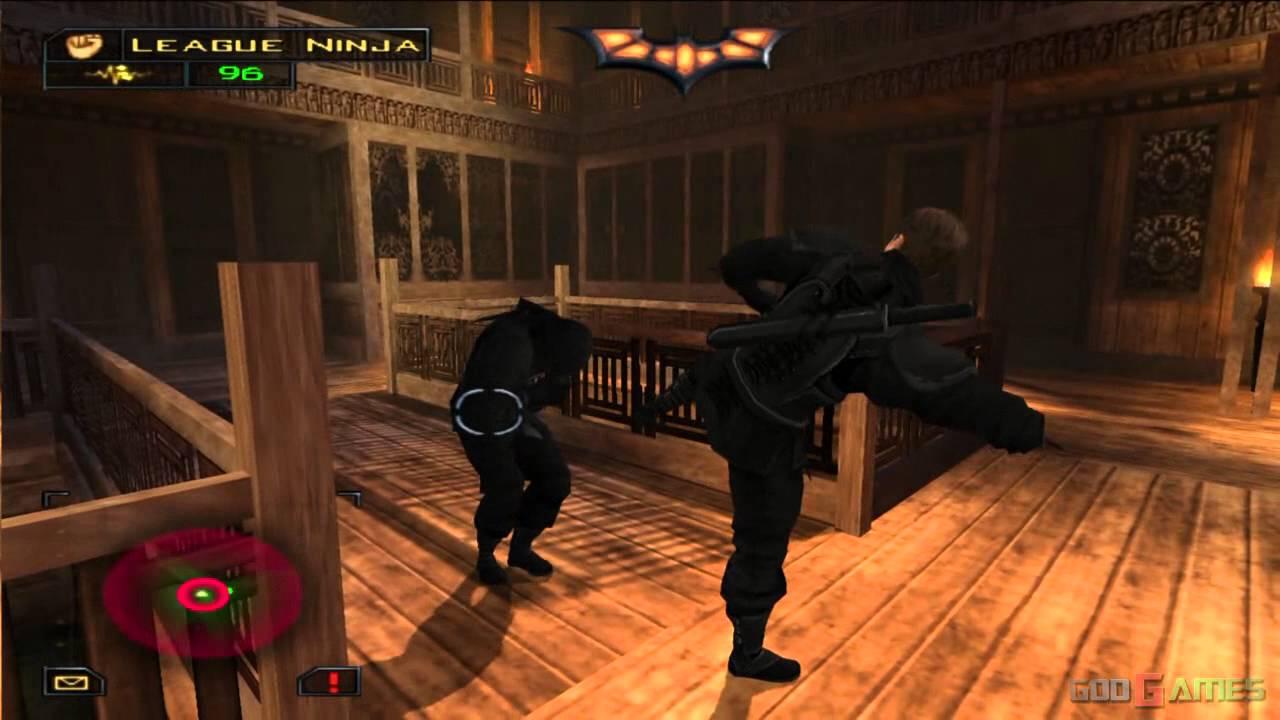Batman Begins - Gameplay PS2 HD 720P - YouTube