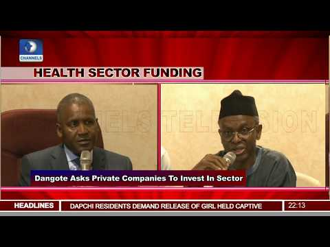 Private Companies Should Donate 1% Annual Profit To Fund Health Sector - Dangote