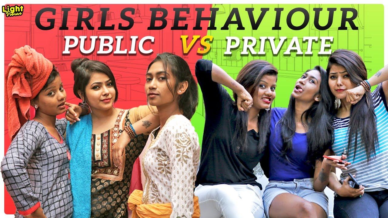 Download Girls Behaviour Public vs Private || Light House