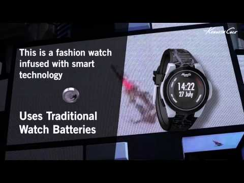 Kenneth Cole Connect Smart Watch Launch Video