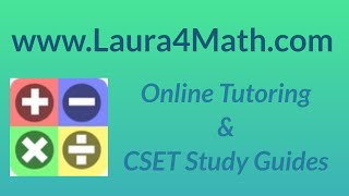CSET Geometry Official Practice Test MC 10
