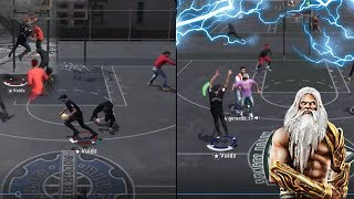 I'M THE ACTUAL 2K PARK GOD!   CONTACT DUNKS & ANKLE BREAKERS FOR DAYS   NBA 2K18 PLAYGROUND