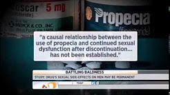 NBC Today Segment on Propecia side effects, including long term sexual side effects.