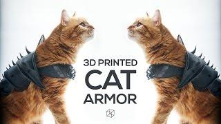 3D Printing - Cat Armor
