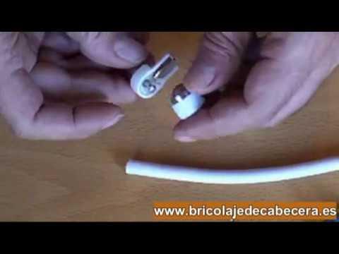 Cómo Instalar Una Clavija En Cable De La Antena De Televisión Tipos De Clavijas Macho Y Hembra Youtube