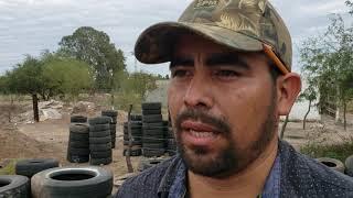 Comienza la construcción de casas de Llantas recicladas en México