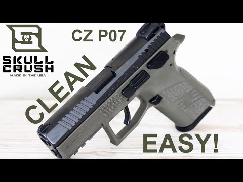 How to Clean the CZ P07