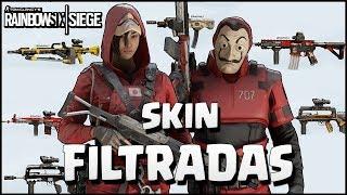 FILTRADAS SKIN PRO LEAGUE, AMULETOS y MÁS | Ember RIse | Caramelo Rainbow Six Siege Gameplay Español