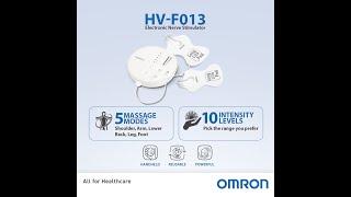 Omron Electronic Pulse Massager HV-F013