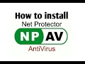 How to install NPAV anti virus (net protector anti virus)