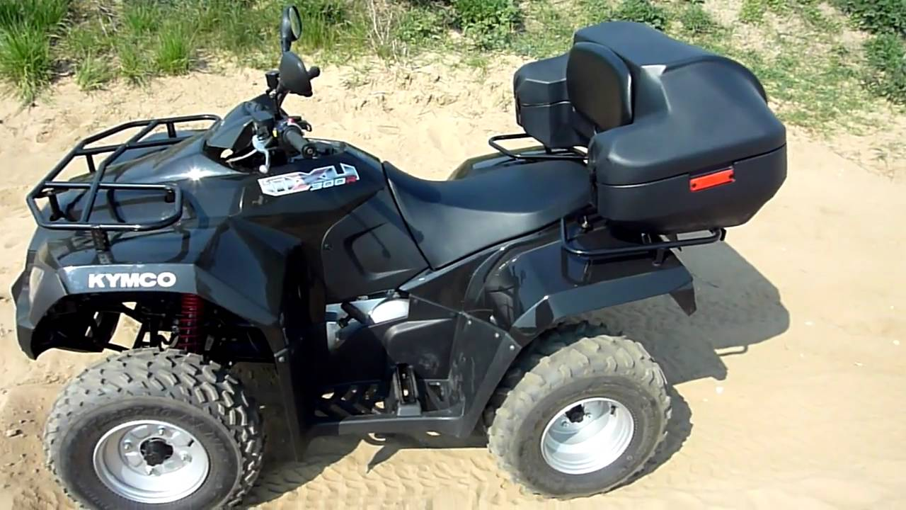 quad atv kymco mxu 300r schwarz 20 april 2011 bielefeld youtube. Black Bedroom Furniture Sets. Home Design Ideas