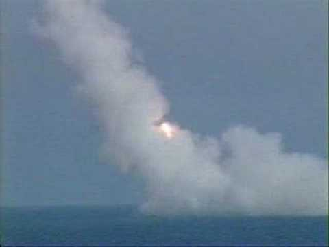 Navy - Trident Missile Launch From a Submarine