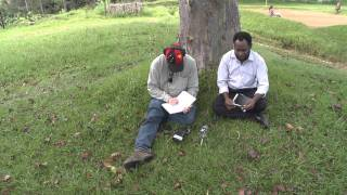 Interview with Ganibe Sebo about the Foe language of Papua New Guinea