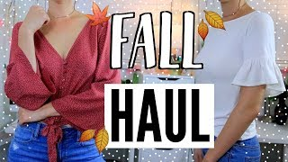 Everyday Fall Clothing TRY ON Haul! + Home Things!
