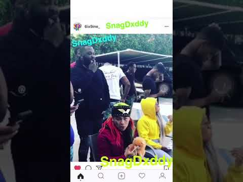 6IX9INE DISSES CHIEF KEEF AND GLO GANG AND CHICAGO WITH NEW JERSEY GOONS !