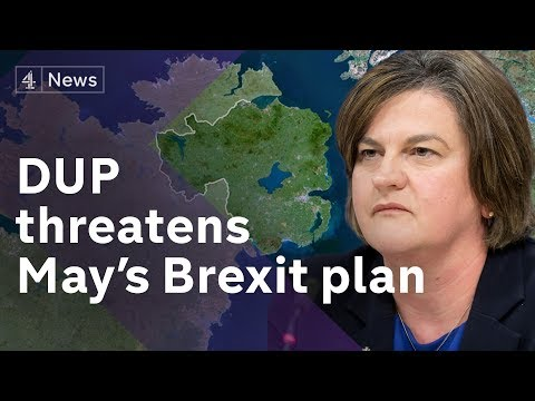 DUP lock horns with Theresa May over Brexit deal