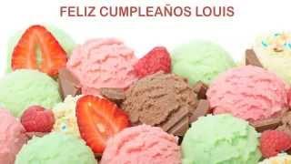 Louis   Ice Cream & Helados y Nieves - Happy Birthday