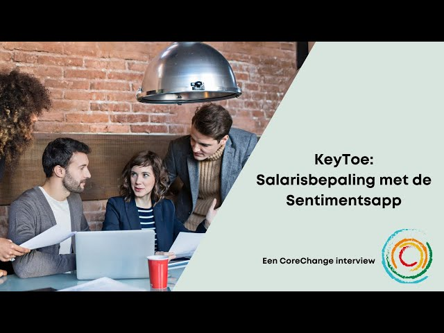 De Sentimentsapp van Keytoe: real time feedback geven
