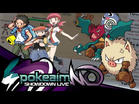 Pokemon |OR/AS| Showdown Live w/POKEAIMMD, PK & GATOR! - Ret
