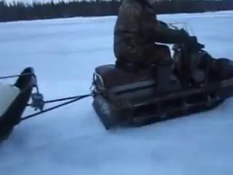 ямаха против русского бурана скорость 90 км/ч