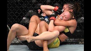 Veja A Finalização Da Estreante Amanda Ribas No UFC Minneapolis