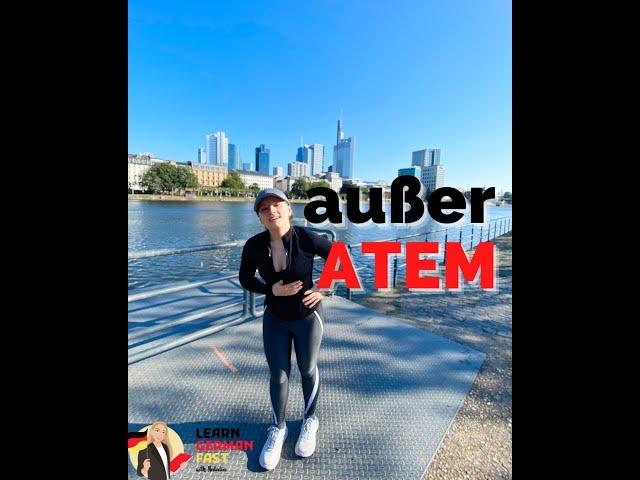 AUßER ATEM SEIN #shorts