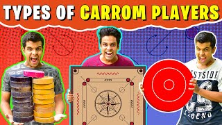 Types of CARROM Players | The Half-Ticket Shows