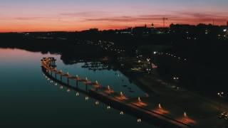 DJI Inspire 2 X5S night shot (low light) in Płock - Poland