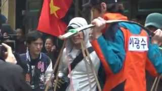 HD 130204 Fancam Running Man in VietNam {Red team}   YouTube