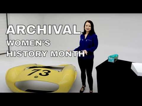 WOMENS HISTORY MONTH | SPECIAL ARCHIVE UNBOXING