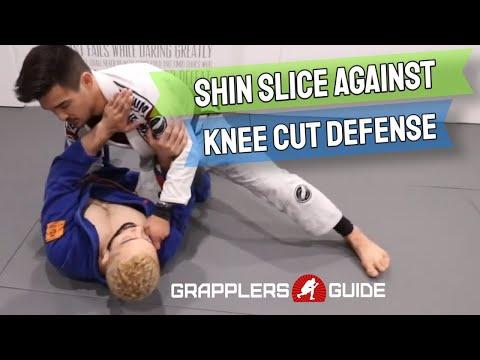 Isaac Doederlein - Shin Slice Against Knee Cutter Defense