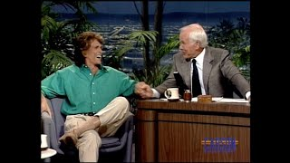 Michael Landon's final appearance on The Tonight Show Starring Johnny Carson - pt.2