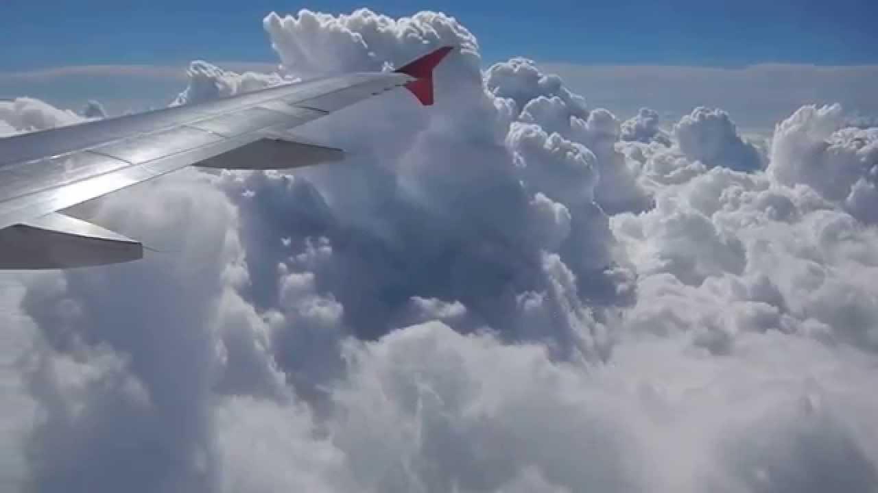 Облака под к��лом �амолё�а youtube