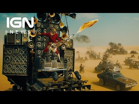 Mad Max: Fury Road's Flame-Spewing Guitar Actually Works - IGN News