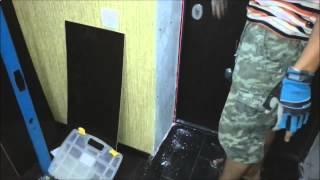 Как правильно сделать портал для входной двери(После установки входной двери небходимо установить отделку дверного портала, чтобы придать двери закончен..., 2014-06-02T17:52:51.000Z)