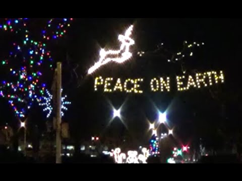 Longview Civic Center is lit up for Christmas! - Longview WA - Longview Civic Center Is Lit Up For Christmas! - Longview WA - YouTube