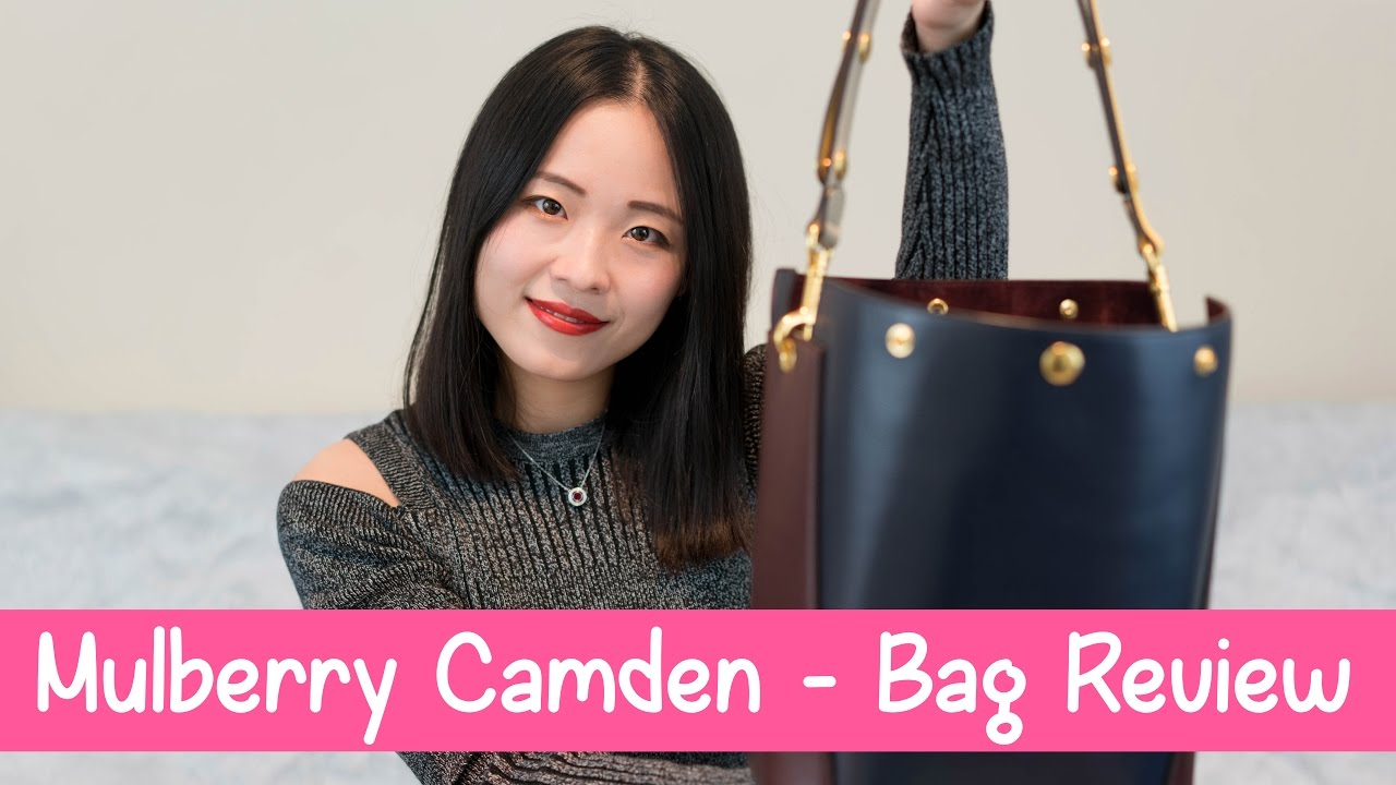 Eng Sub  Mulberry Camden - Bag Review Mulberry包包测评 - YouTube feb7fd59bb468
